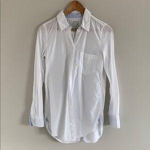 Talula White Button Down Shirt.